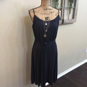 Ann Taylor Loft Dress Sz M. Navy Blue